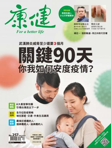康健雜誌第257期