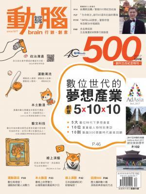 動腦雜誌500期_網紅