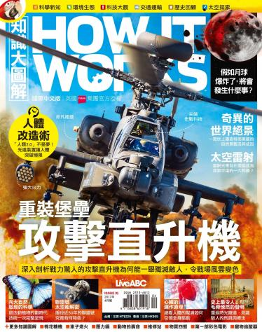 知識大圖解國際中文版2017年4月號