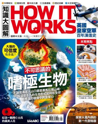 知識大圖解國際中文版2019年4月號