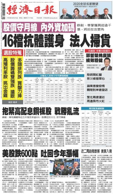 經濟日報20200202