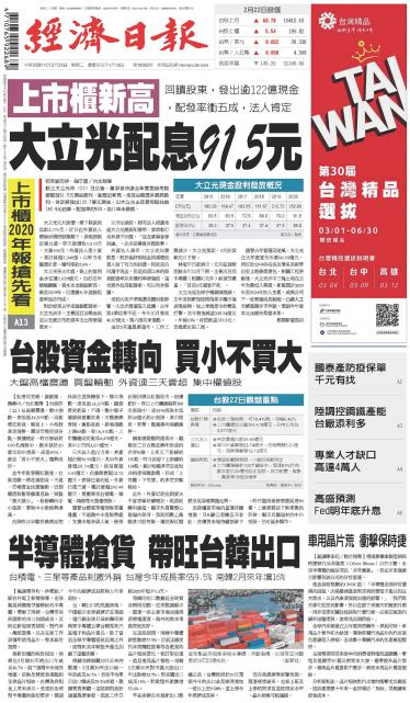 經濟日報 20210223